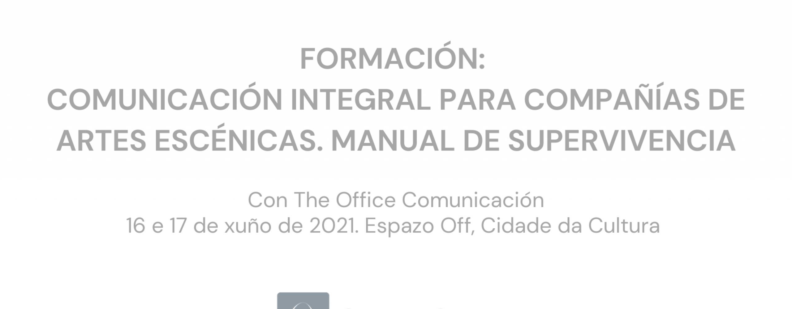 A proposta formativa de Escena Galega retoma a presencialidade cun obradoiro de formación integral en comunicación para as artes escénicas
