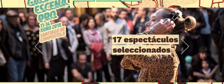 13 COMPAÑÍAS DE ESCENA GALEGA PRESENTES EN GALICIA ESCENA PRO.