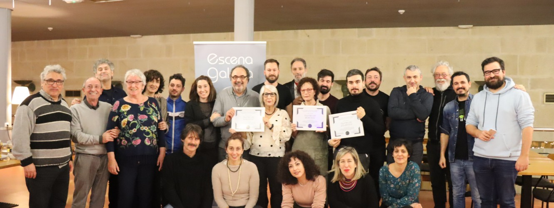Teatro do Atlántico, Teatro do Noroeste e Teatro do Morcego, novas socias de honra de Escena Galega